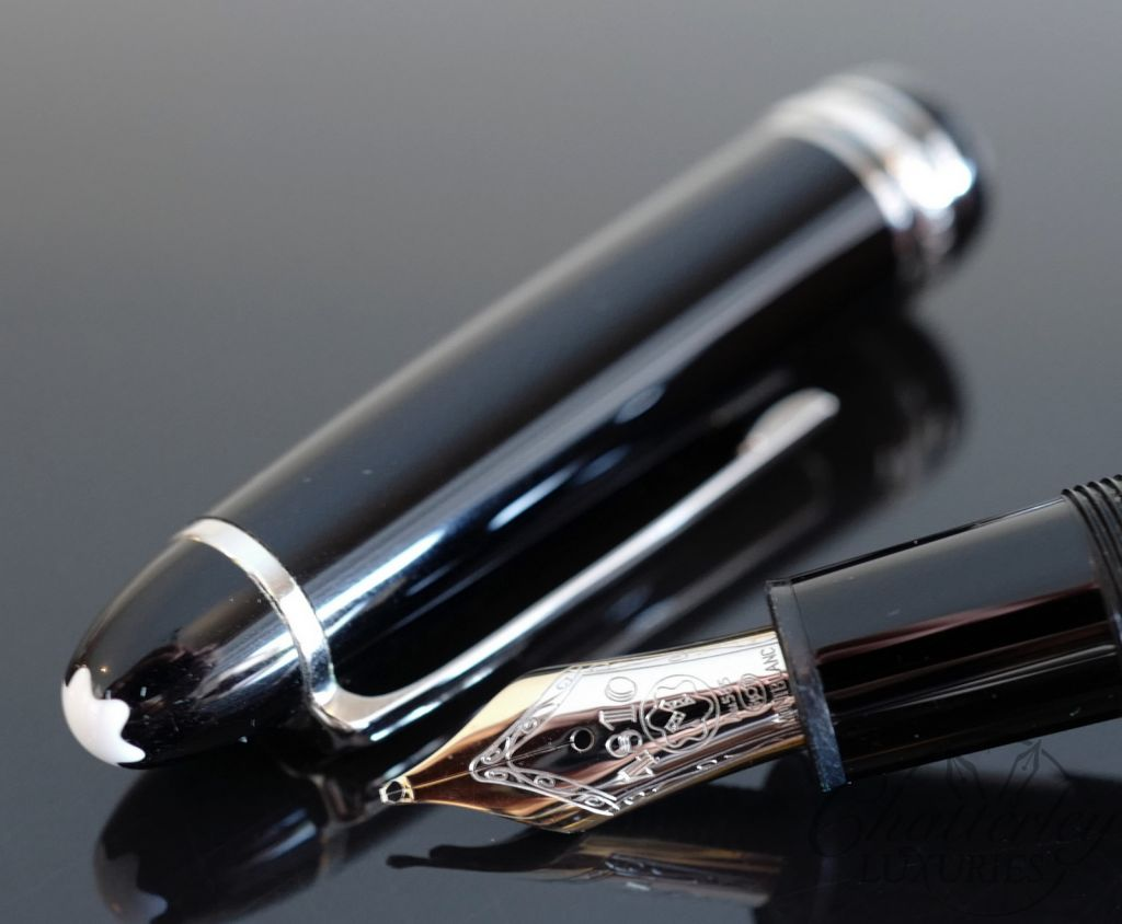 Montblanc Meisterstuck 146 Platinum LeGrand Fountain Pen