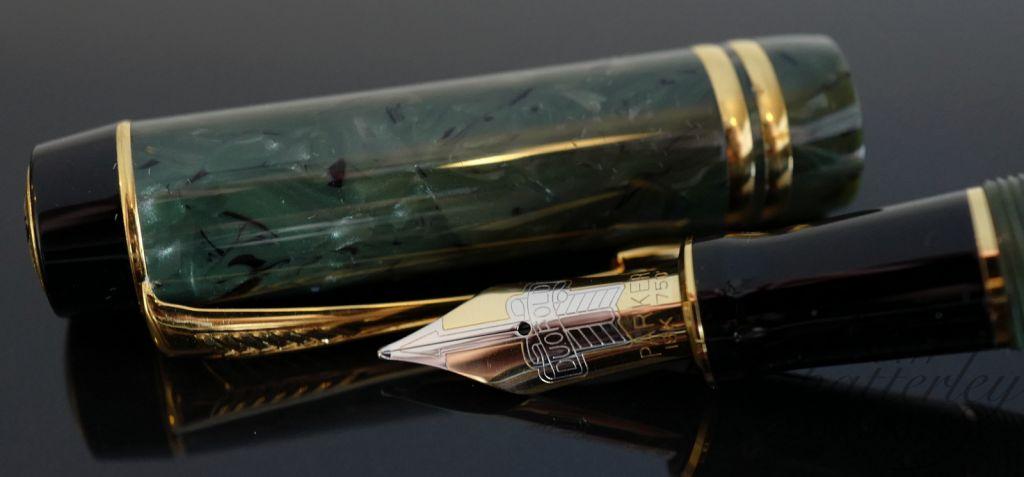 Parker Duofold Centennial Jade Fountain Pen