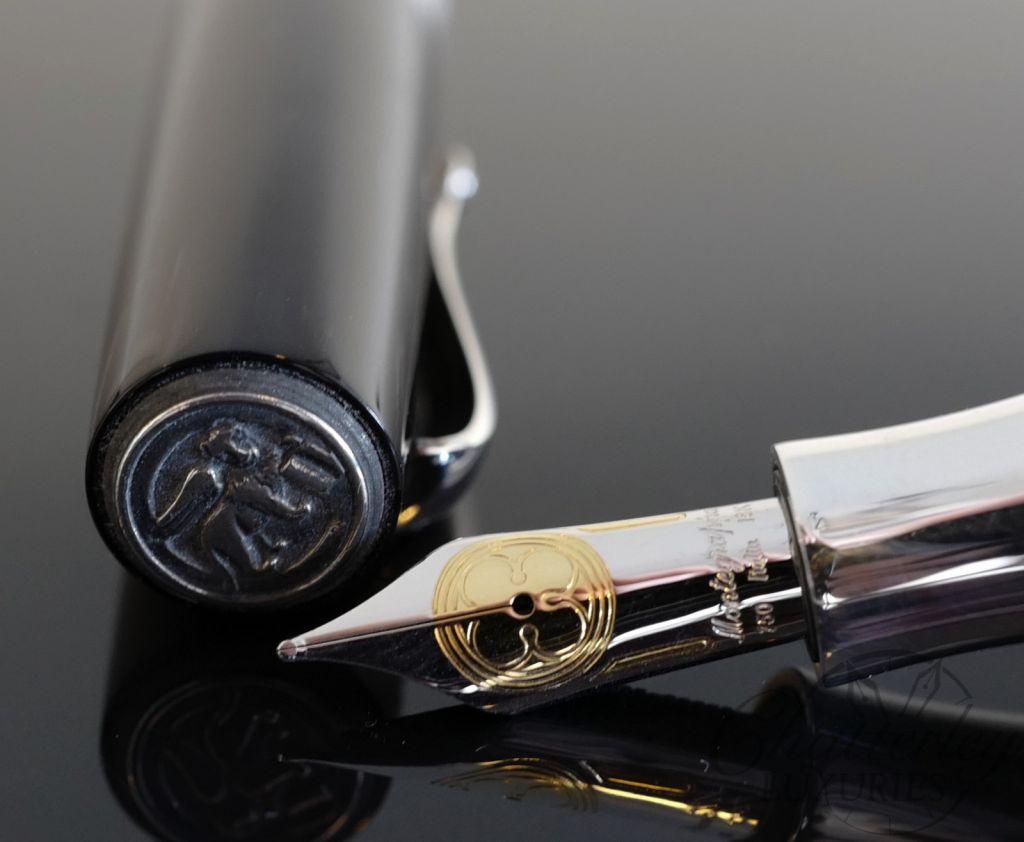 Montegrappa Extra Rosso Veneziano Sterling Silver Prototype Fountain Pen