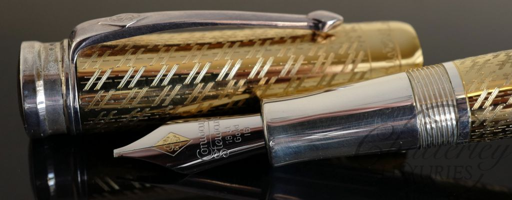 Conway Stewart Brunel Limited Edition Fountain Pen - Vermeil