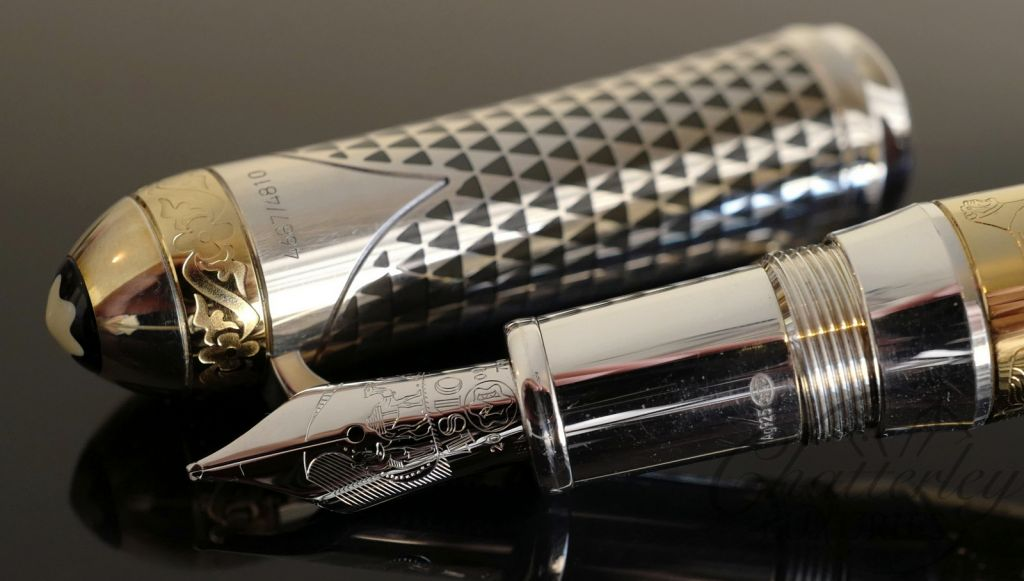 Montblanc Patron of the Arts Limited Edition 4810 Max Von Oppenheim Fountain Pen