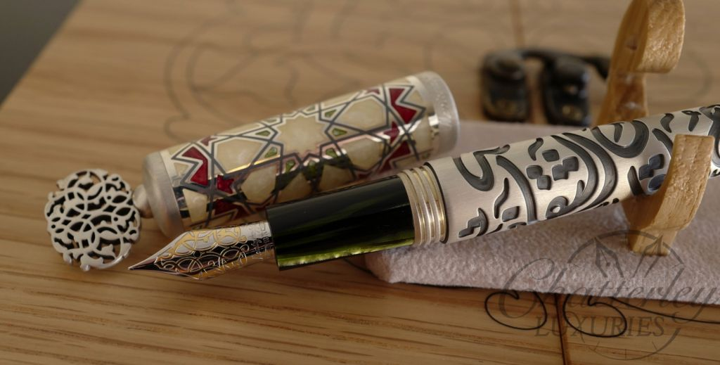 Montegrappa Calligraphy Limited Edition Fountain Pen