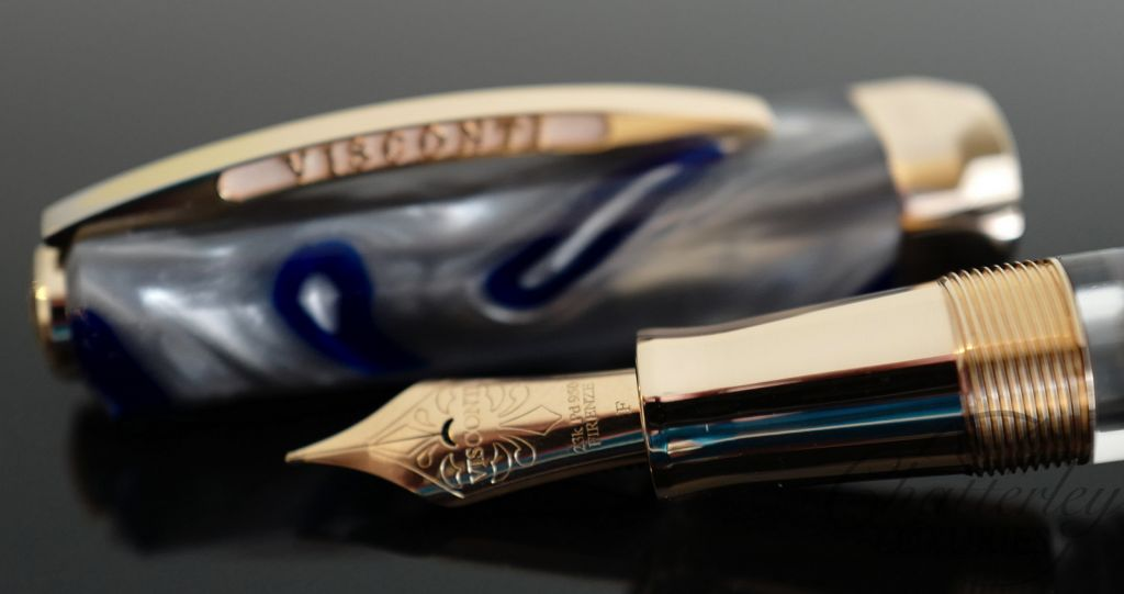 Visconti-Chatterley Opera Master Limited Edition Fountain Pen River Thames at Sunset