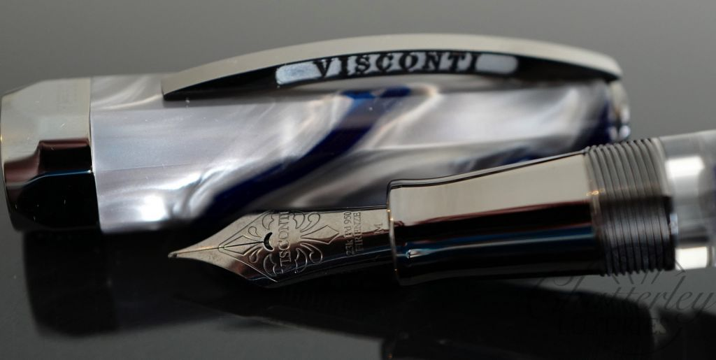 Visconti-Chatterley Opera Master Limited Edition Fountain Pen River Thames at Midnight