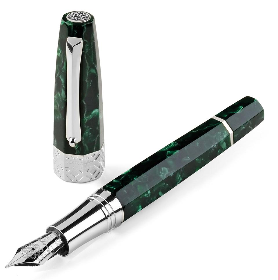 Montegrappa Extra Otto Malachite Green Limited Edition