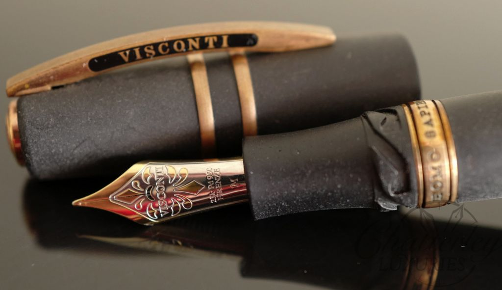 Visconti Homo Sapiens Bronze Age Lava Maxi Fountain Pen
