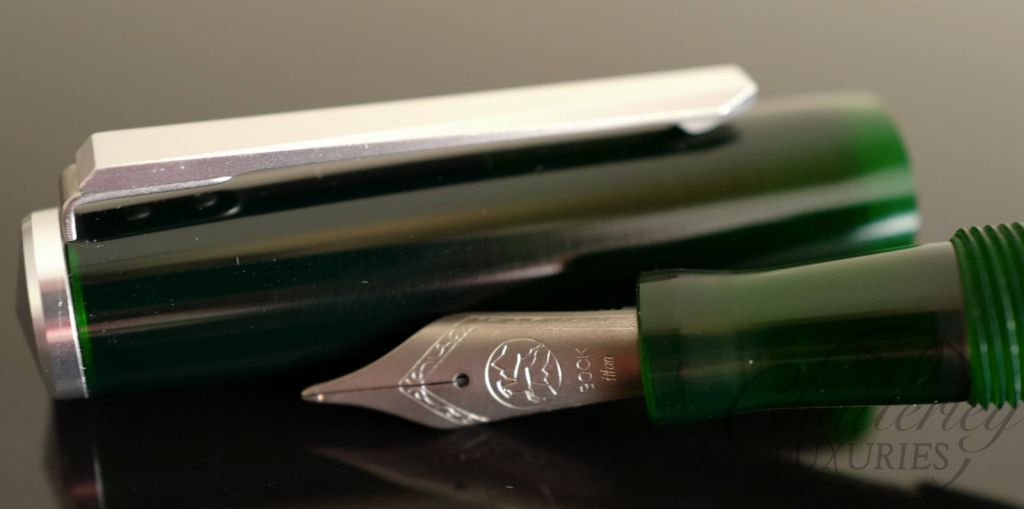 Karas Kustoms Decograph Green Fountain Pen
