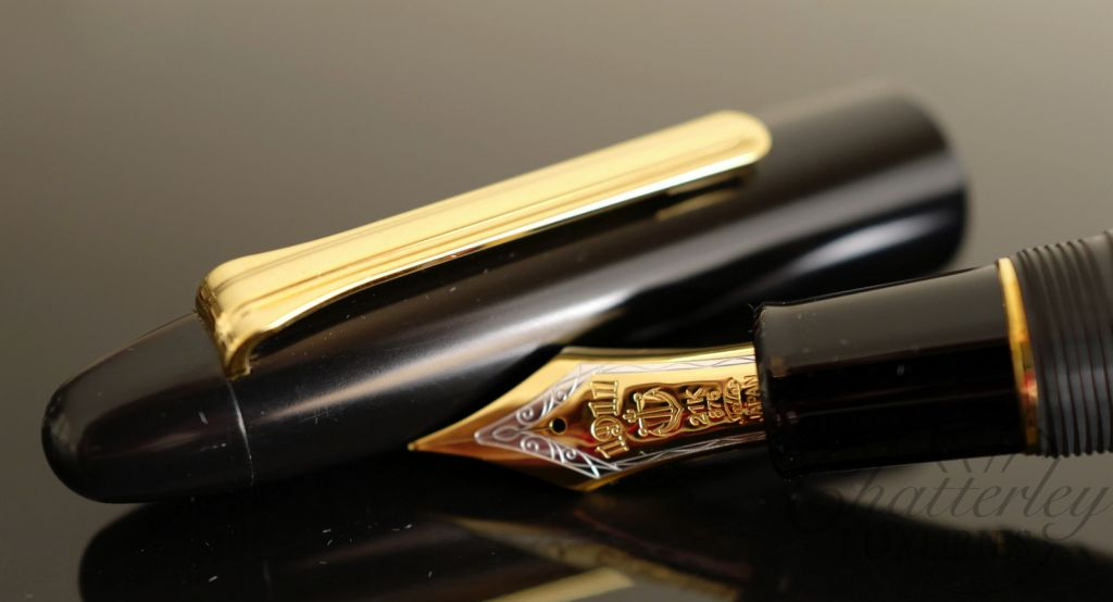 Sailor King of Pens Black Ebonite Fountain Pen