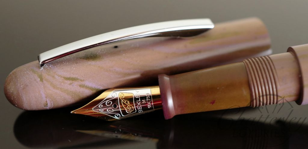 Bexley Imperial Ebonite Violet Fountain Pen
