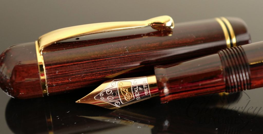Bexley Bears for Jim Gaston Fountain Pen