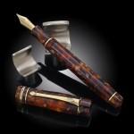 Conway Stewart Wellington Classic Brown Fountain Pen