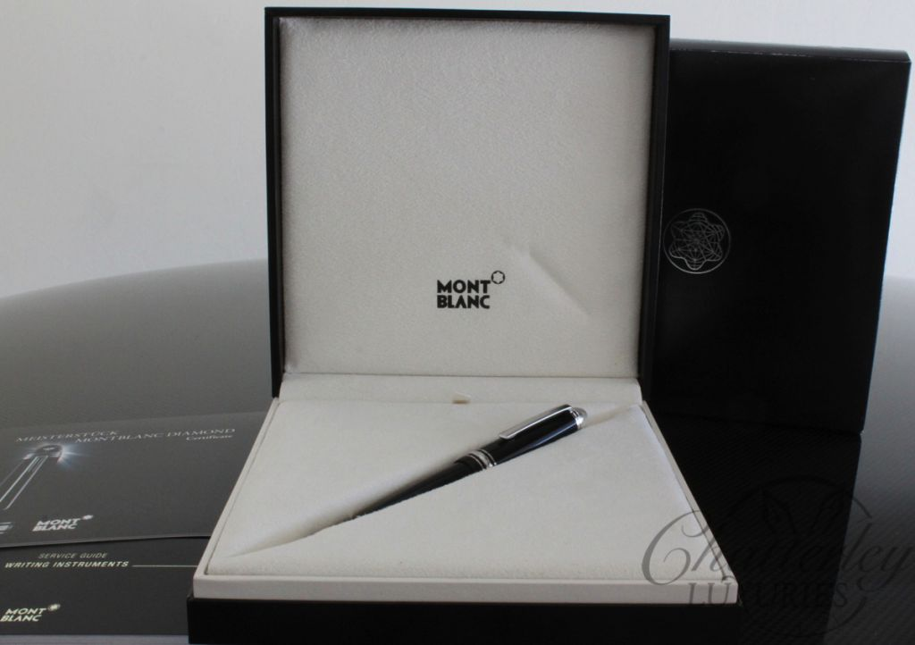 Montblanc Meisterstuck 146 Diamond LeGrand Fountain Pen