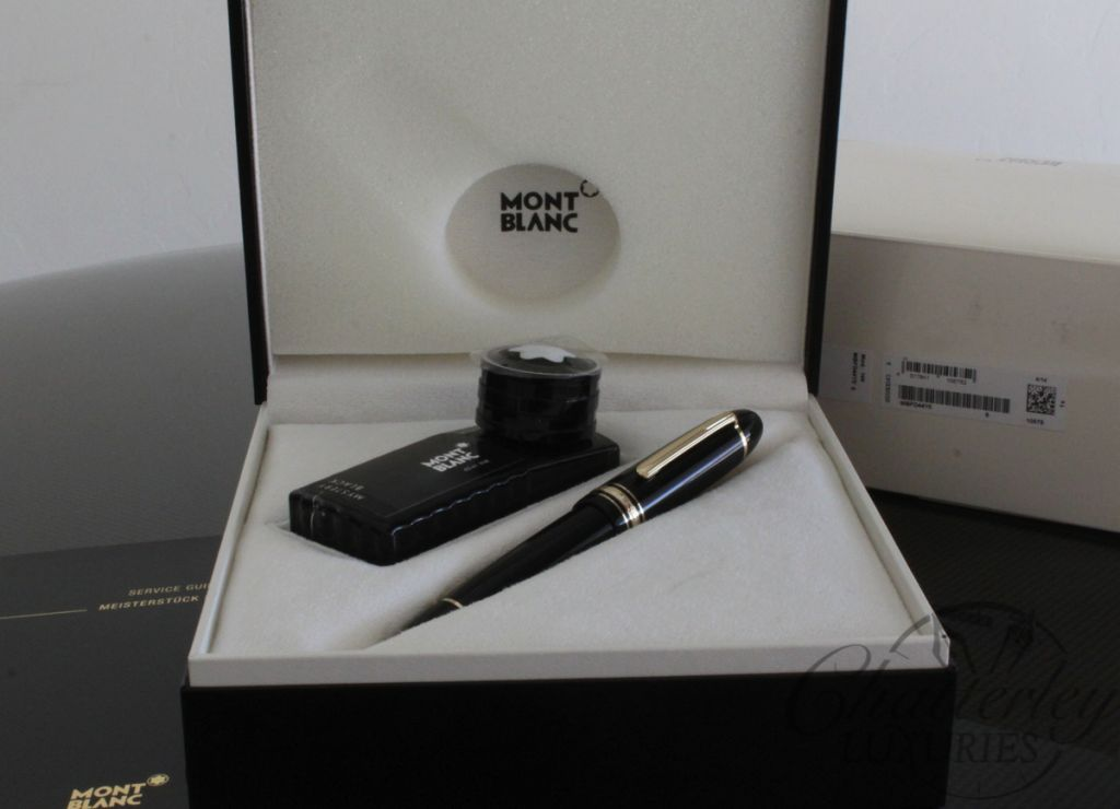 Montblanc Meisterstuck 149 Fountain Pen with ink bottle