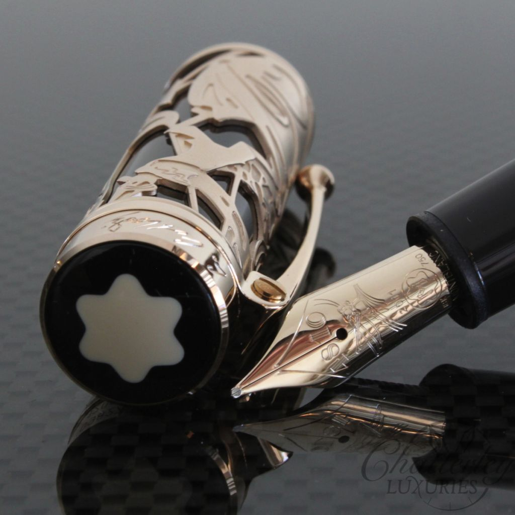 Montblanc Writers Edition Carlo Collodi Fountain Pen