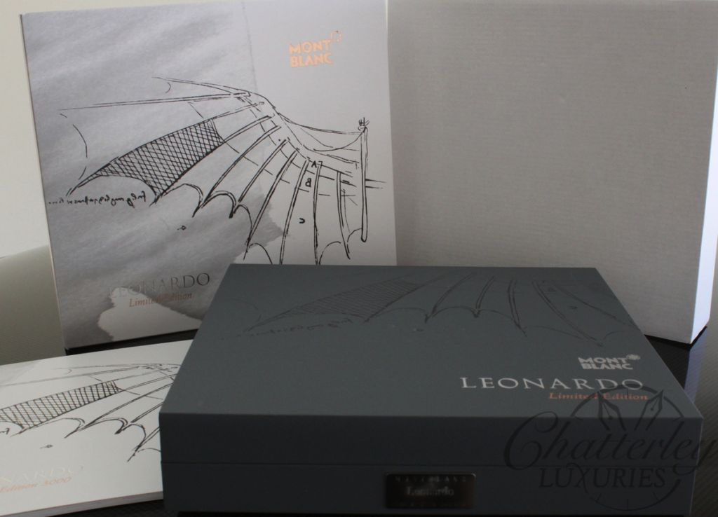 Montblanc Limited Edition Great Characters Leonardo Fountain Pen