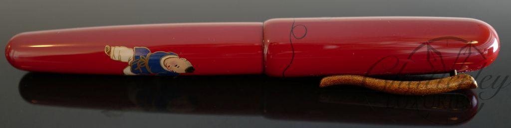 Danitrio Maki-e Akigusa ni Suzumushi (Grass and Cricket) Fountain Pen on Hanryo