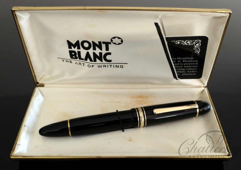 Montblanc 149 Fountain Pen with 14c Gold EF nib