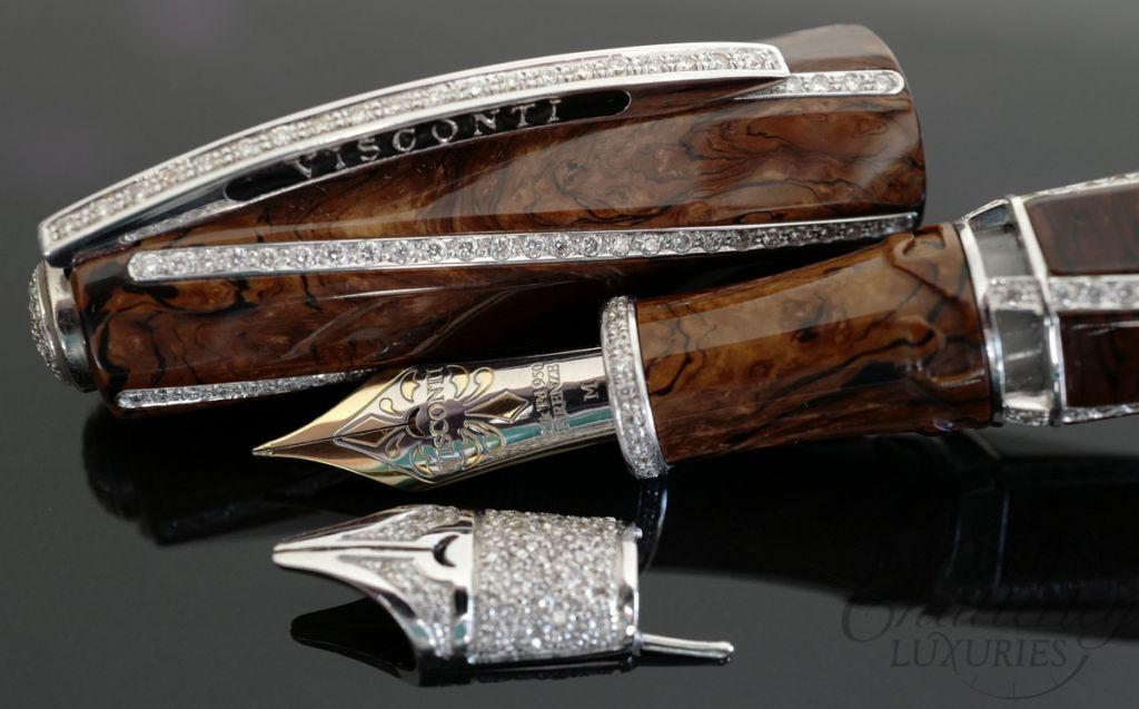 Visconti divina hrh fountain pen set for Sconti divani