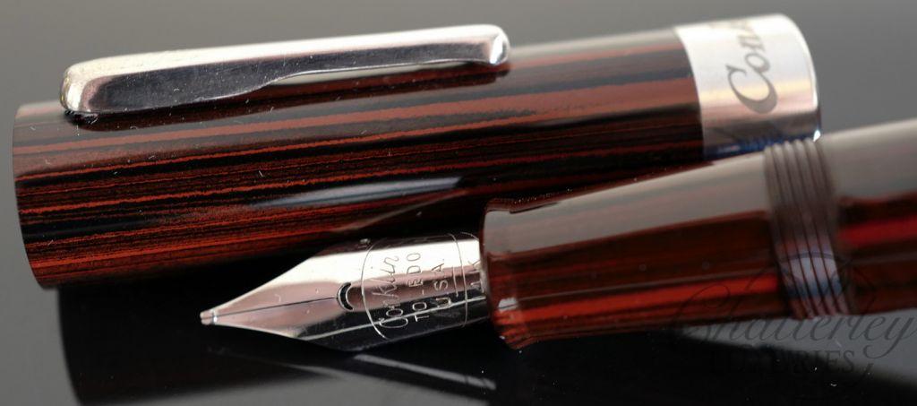 Conklin Limited Edition Mark Twain Ebonite Crescent Filler Fountain Pen