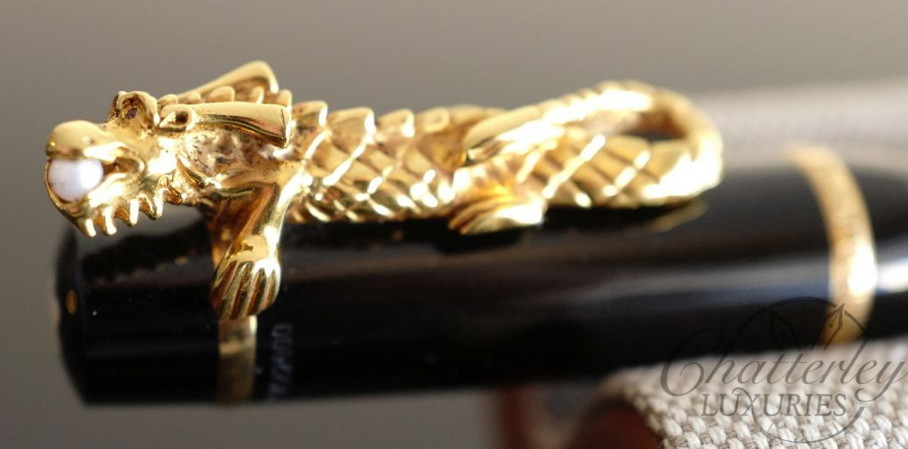 Montblanc Year of the Golden Dragon Limited Edition Fountain Pen