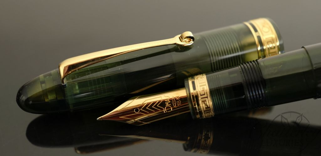 Omas Ogiva Evergreen Demonstrator Limited Edition Fountain Pen