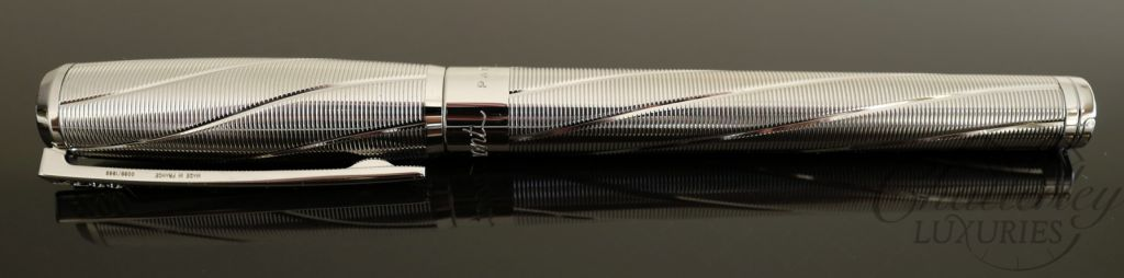 ST Dupont Spectre Limited Edition Fountain Pen - Palladium