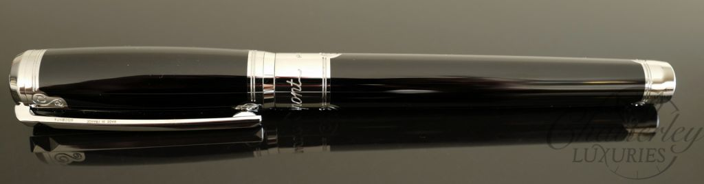 ST Dupont D Line Placed Lacquer Arabesque Fountain Pen