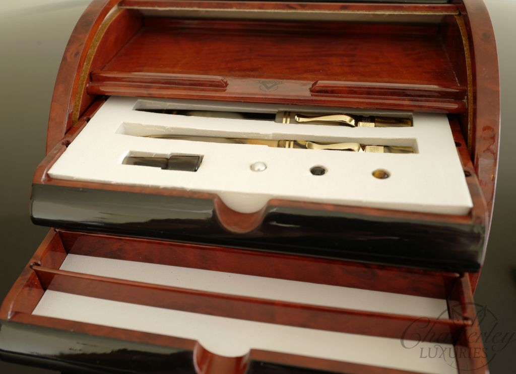 Visconti Ragtime Limited Edition 20th Anniversary Three Piece Roll Top Nautilus Desk Set