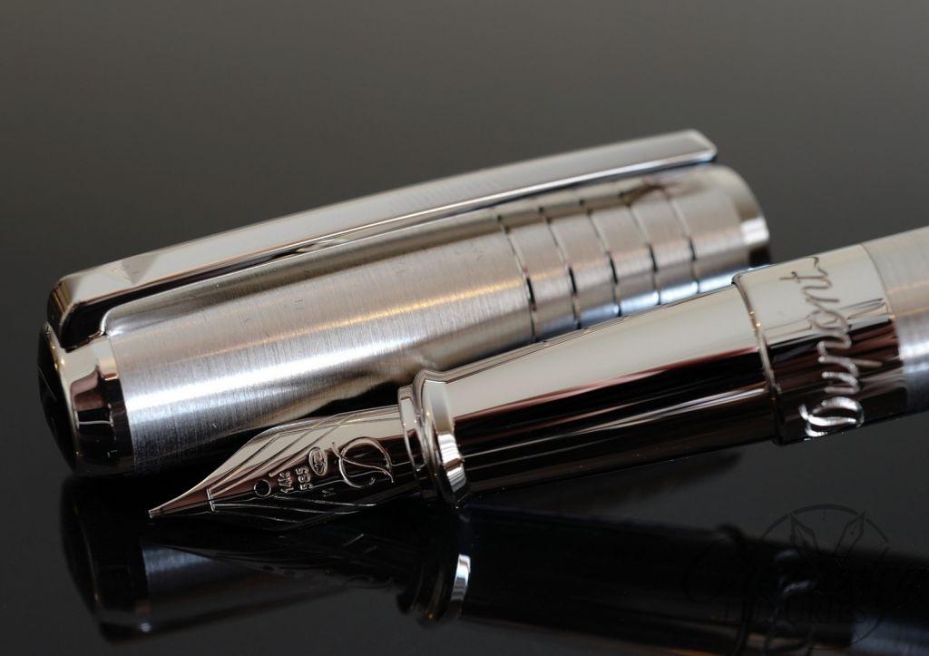 niska cena sklep internetowy najlepszy wybór S.T. Dupont Line D Palladium Brushed Fountain Pen