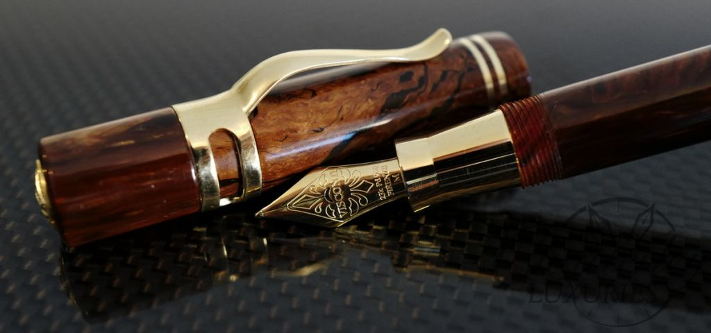 Visconti-Chatterley Divina Ragtime 10th Anniversary Limited Edition Fountain Pen