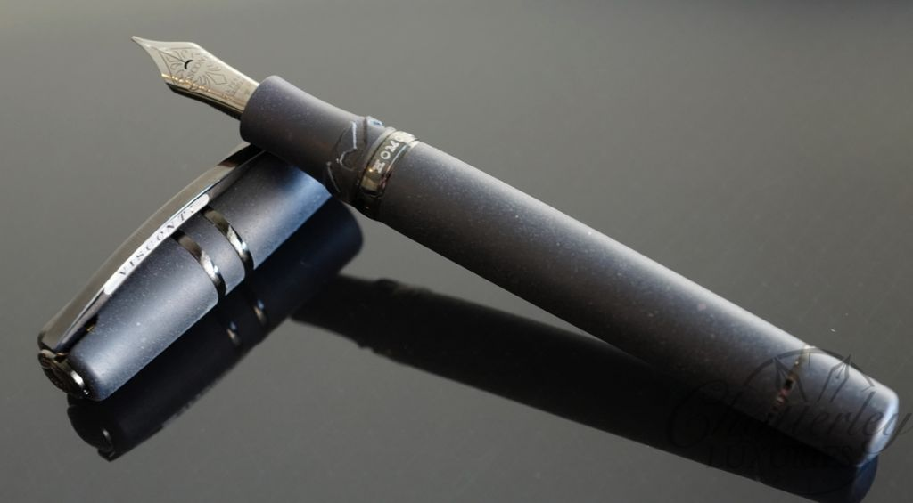 Visconti Fountain Pen Homo Sapiens Dark Age Maxi Fountain Pen