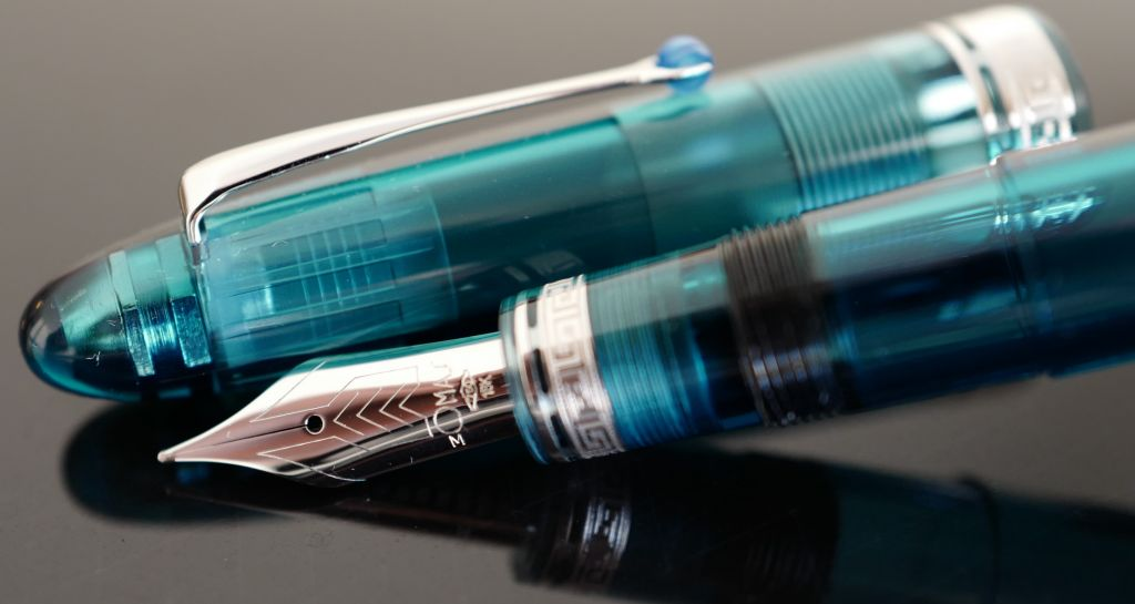 Omas Ogiva Vision Turquoise Demonstrator Limited Edition Fountain Pen