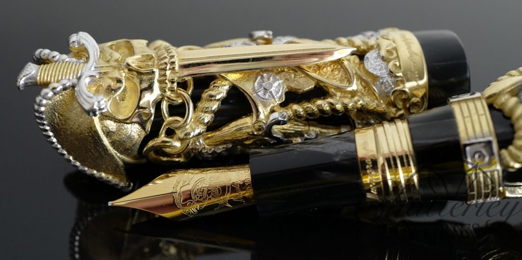 Montegrappa Pirates Solid Gold Limited Edition Fountain Pen