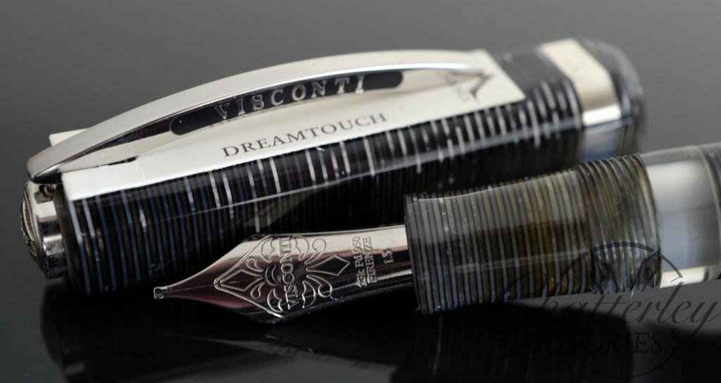 Visconti Limited Edition Wall Street Platinum Grey