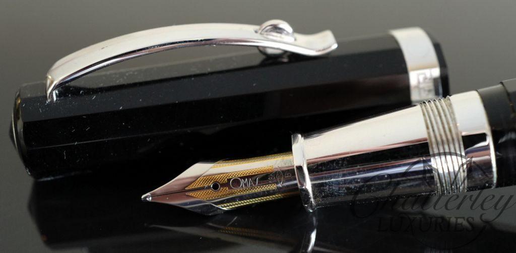 Omas Arte Italiano Paragon Black Fountain Pen