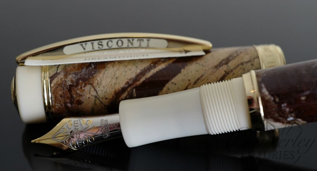 Visconti Millionaire Limited Edition Marble Forest Brown Fountain Pen