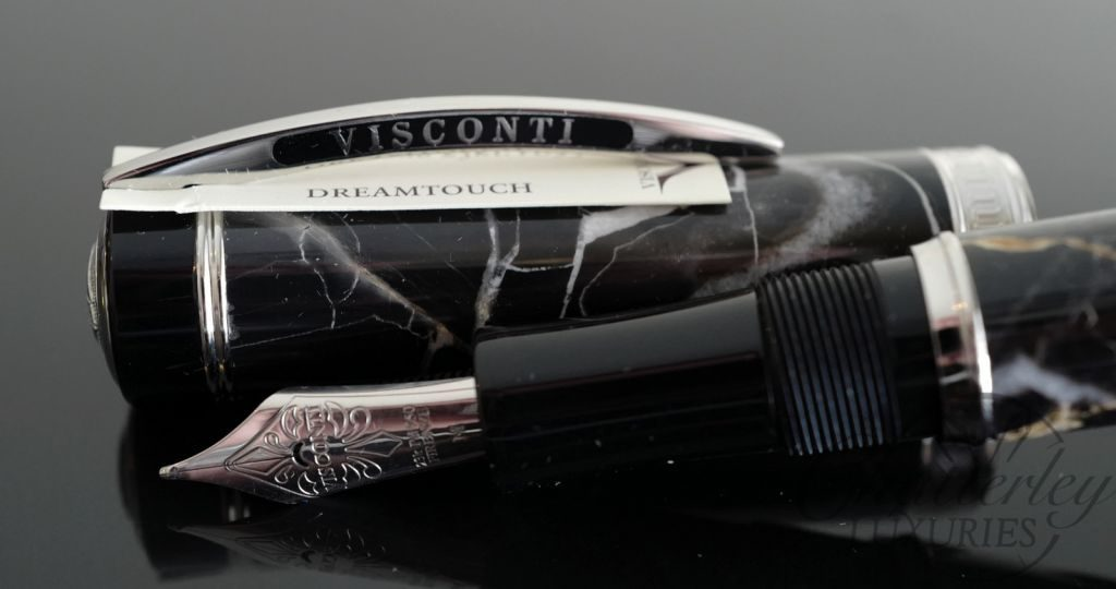 Visconti Millionaire Limited Edition Marble Imperial Black Fountain Pen