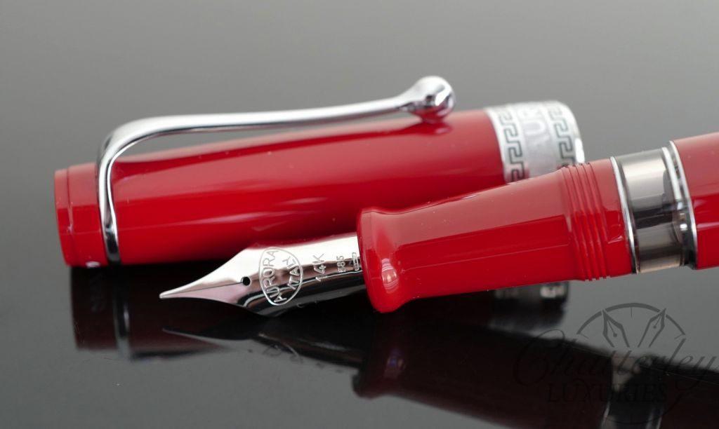 Aurora OptimaRed Flex Limited Edition Fountain Pen