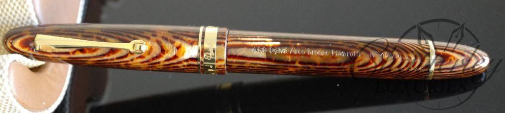 Armando Simoni Club Bronze Arco Pavarotti Fountain Pen 18K Magic Flex Nib