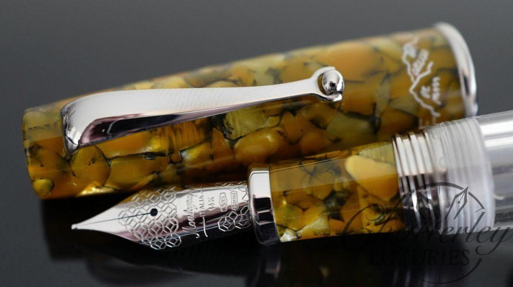Montegrappa Limited Edition La Canzone del Grappa Fountain Pen – October Green