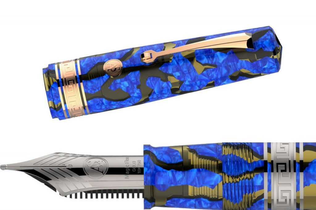 Armando Simoni Club/Chatterley Bologna Extra Lucens Celluloid Limited Edition Fountain Pen