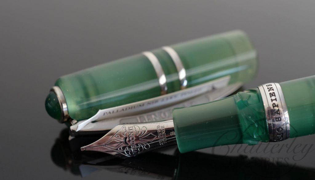Visconti Homo Sapiens Jade Limited Edition Demonstrator Maxi Fountain Pen