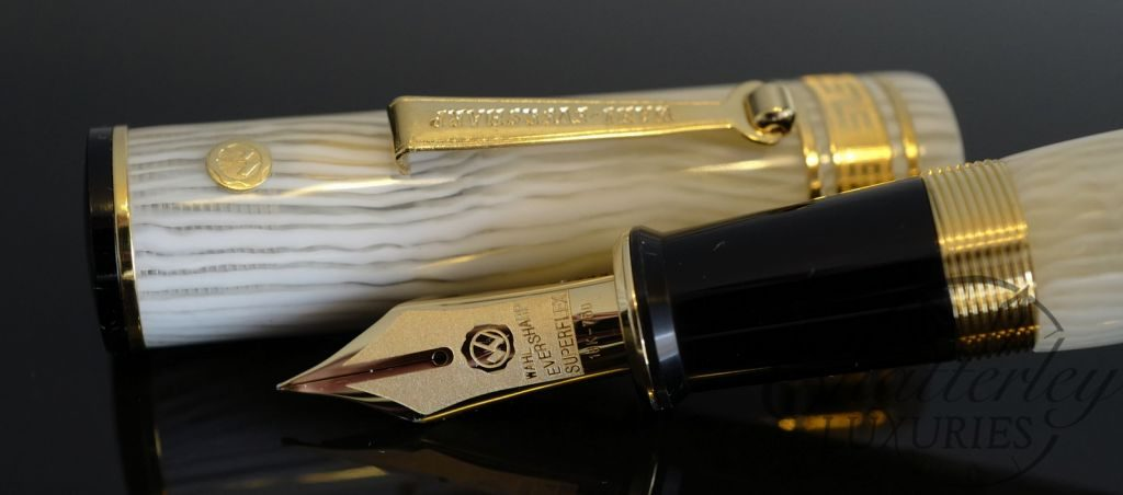 Wahl Eversharp DECOBAND Gold Seal Oversized Collection Milky Way LP Fountain Pen