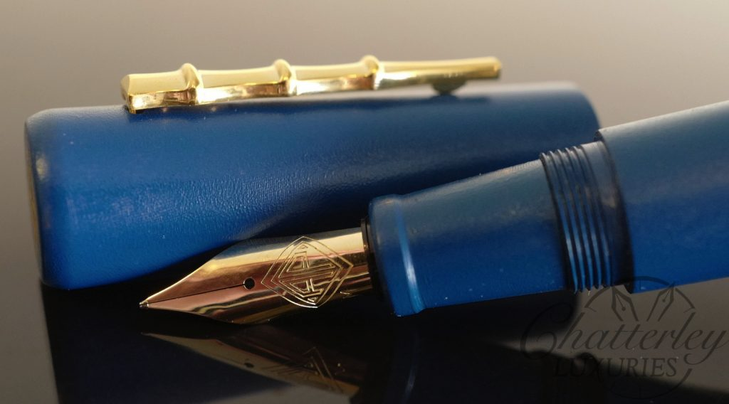 AP Limited Editions Urushi Ishiji Blue Limited Edition Fountain Pen
