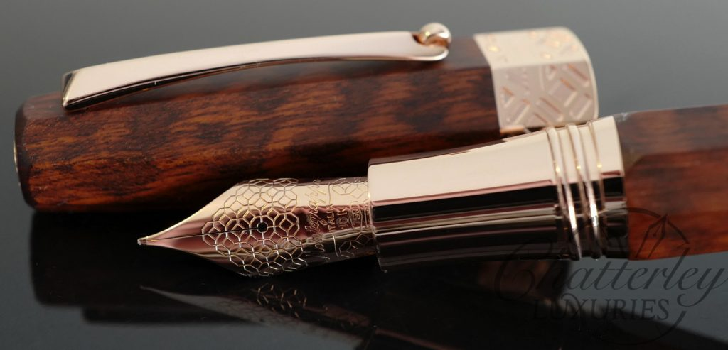 Chatterley/ Montegrappa Extra Snake Wood Limited Edition Fountain Pen