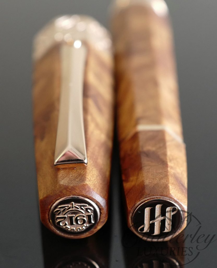 Chatterley/ Montegrappa Extra Thuya (Burl) Wood Limited Edition Fountain Pen