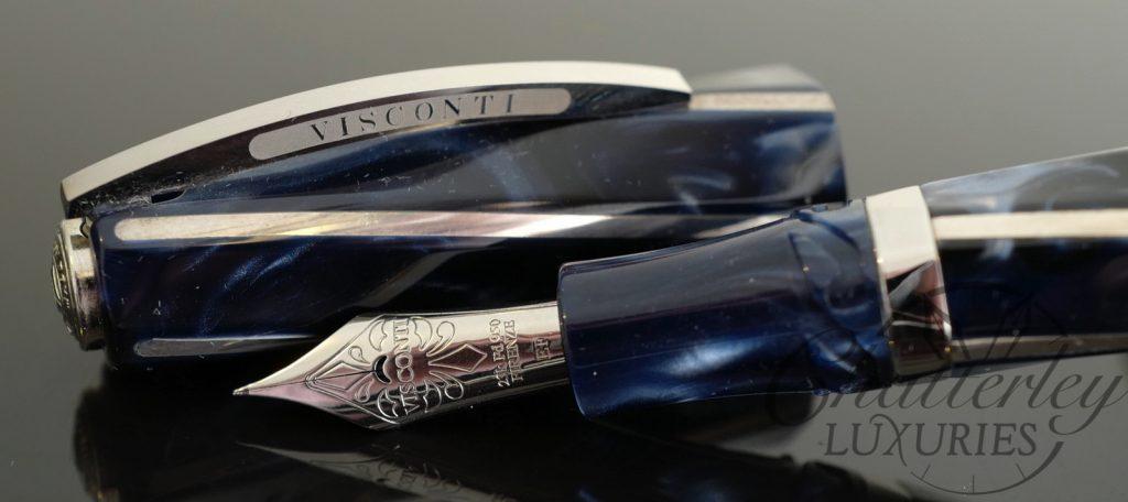 Visconti Blue Divina Elegance Maxi Fountain Pen