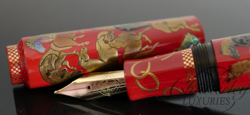 AP Limited Editions For the Love of Horses Makie Fountain Pen