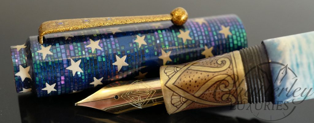 AP Limited Editions Liberty Enlightening The World Makie Fountain Pen